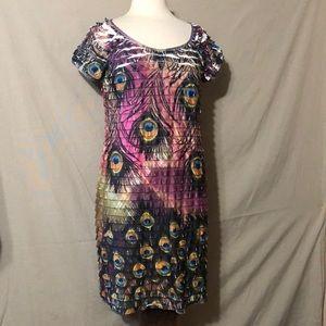 Moa Moa Peacock Dress